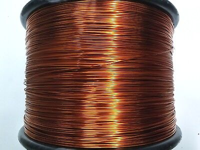 "Essex Magnet Wire, 14 AWG Gauge, 0.0675"" 8oz 40ft, Enameled Copper Coil Winding"