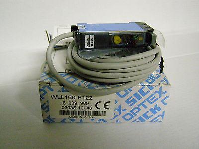 Sick Fiber Optic Sensor Wll160-f122