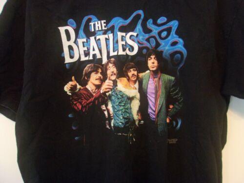 "THE BEATLES  ""1967 Photo"" Vintage T Shirt Apple Large"