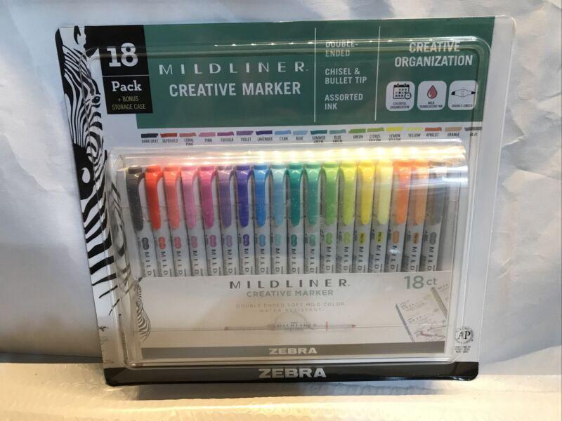 Zebra 18 Pack Midliner Creative Marker Set