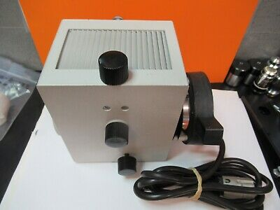 Leitz Lamp Assembly Illuminator Optics Microscope Part As Pictured A2-a-03
