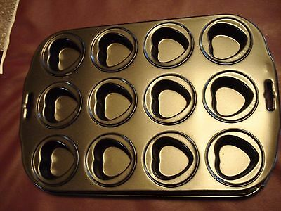 Baking Candy/Brownie Pan w/ Heart-Shaped Holes