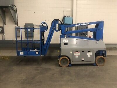 Genie Z-208n 26 Articulating Boom Lift Good Conditionnew Batteries
