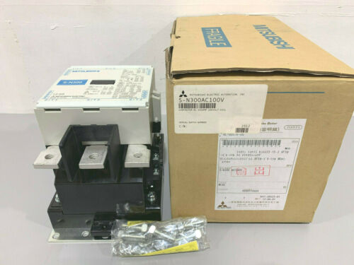 New Mitsubishi Electric S-N300AC100V 350A Contactor 100-127V Coil