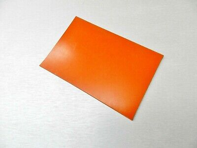 Silicone Rubber Pad High Temp Solid Sheet Redorange Commercial 4 X 6 X 18