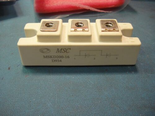 MSKD200-16 MICROSEMI  DIODE ARRAY MODULE *OBSOLETE*