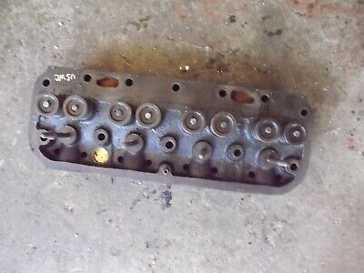 Allis Chalmers Unstyled Wc Tractor Original Ac Engine Motor Cylinder Head Valves