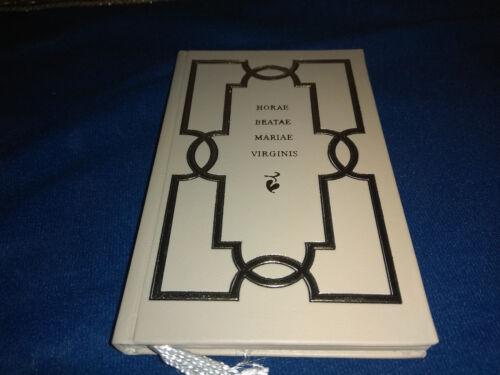 """Medieval 1495 Facsimile """"HORAE BEATAE MARIAE VIRGINIS"""" Book of Hours Manuscript"""