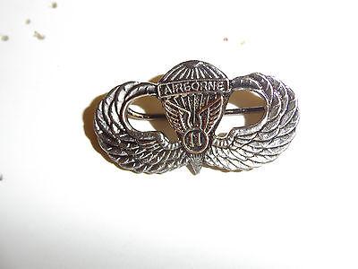 b0340 post WW 2 Occupation 11th Airborne Division Jump Wing Japan Sendia B1D25