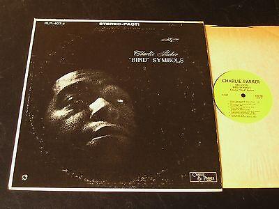 Charlie Parker - Bird Symbols - 1961 Jazz LP - CLEAN!