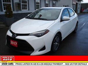 2017 Toyota Corolla $19995.00 financed price - 0 down payment* L