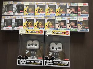 Funko Pops (Chase, Exclusives, Common)