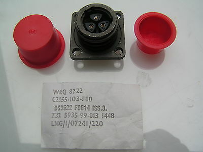 FC Lane Connector LMG/1/07241/220 3 Pin Socket OM487