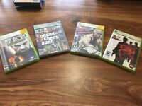 USED XBOX 360 VIDEO GAMES GTA4 GTAIV SPLINTERCELL UFC GODFATHER