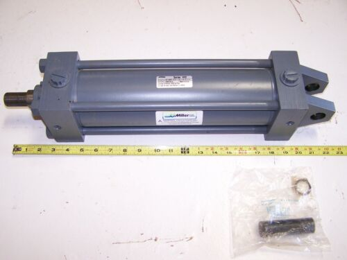 """Miller HV2 Series Hydraulic Cylinder 3.25"""" Bore 11"""" Stroke 3000 PSI Style 84 New"""