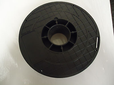 Lot Of 10 Wire Cable Beading Spools - Black
