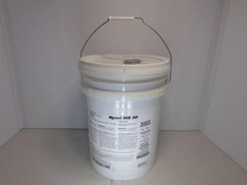 Castrol Hysol MB 50 Cutting & Grinding Fluid 5 Gallon Pail Semisynthetic
