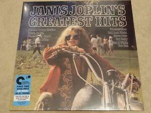 JANIS JOPLIN - GREATEST HITS LTD COLOURED Vinyl BLACK FRIDAY 2017 RSD New!!!