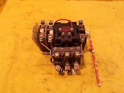 Nema 1 Motor Starter A-b 709-bod103 Electric Contactor Machine Control Switch