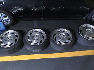 Chevrolet Corvette Alloy Rims with adapters
