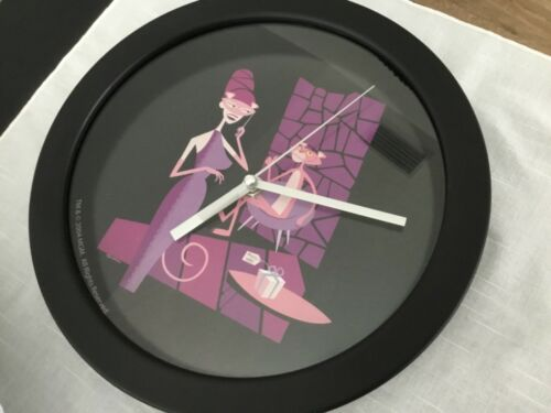 TM & Co 2004 MGM Pink Panther SHAQ  40th Anniversary Round Wall Clock