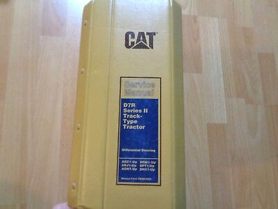 Caterpillar D7r Series Ii Track Type Tractor Service Manual Aec1 - Bnx1 Up Oem