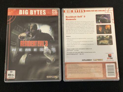 Computer Games - Resident Evil 3 Nemesis PC Computer Original