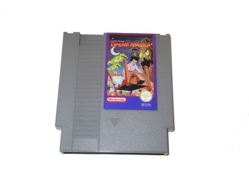 LITTLE NEMO DREAM MASTER Nintendo NES cartridge PAL game