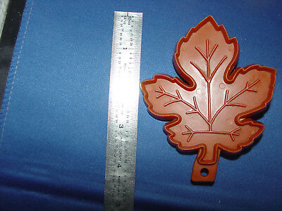 Hallmark Cookie Cutter Maple Leaf Vintage Hallmark  VTG Halloween ](Maple Leaf Halloween)