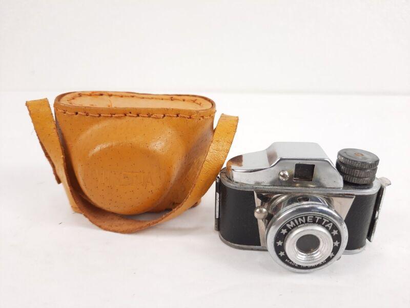 MINETTA Mini Spy Camera Made In JAPAN - Works!