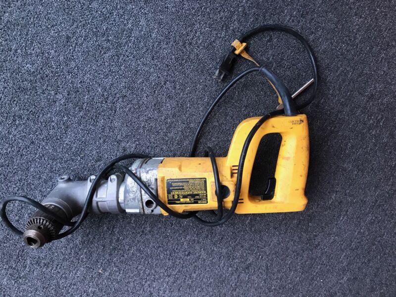 """DEWALT angle DW120  1/2"""" Joist and Stud Drill"""