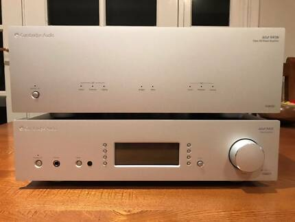 Cambridge Audio Azur 840W & 840E Stereo Amplifier Stack