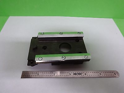 Microscope Part Leitz Germany Ortholux Ii Rail For Nosepiece As Is Biny4-06