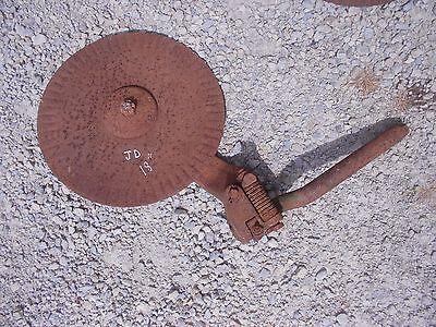 John Deere Jd Plow 18 Rolling Cutter Wheel Disc Disk Jd Mounting Brace Bracket