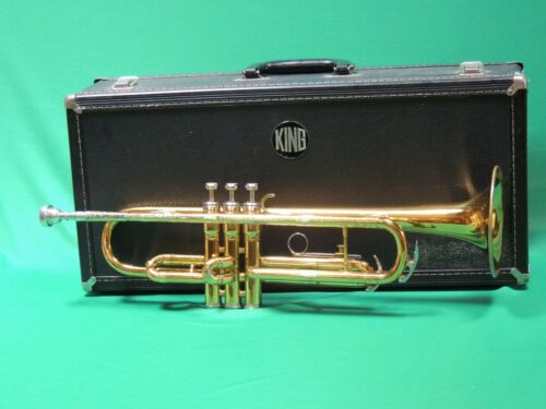 King 600 Trumpet 🎵EXTRAS Refurbished with NEMC 7c MP and King Deluxe case
