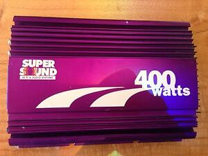 Car Amp 400 watt 4 channel Clarence Town Dungog Area Preview