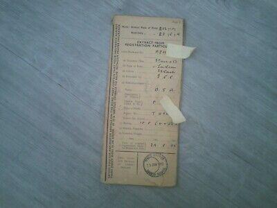 BSA 10HP 1935 saloon memorabilia literature vintage classic car