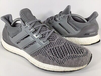 4379942bf Adidas Ultra Boost 1.0 Wool Grey PK White Black Mens Size 11.5 Rare S77510