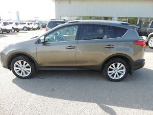2013 Toyota RAV4 Limited Local One Owner, Leather, Heated Sea...