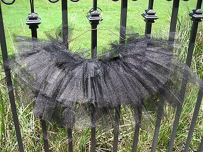 Black Tutu Womens (Women Juniors Tutu Skirts Black One Size Ballet Princess Fancy Dress Party)