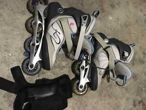 Rollerblades women's size 10 - Burlington