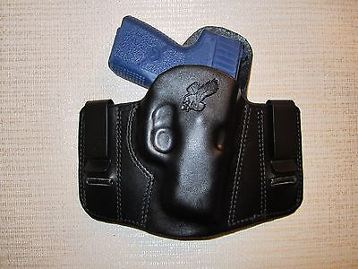 Used, KAHR PM9 & CM9  REVERSIBLE, IWB OR OWB, R H, formed pancake belt holster  for sale  Shipping to Canada