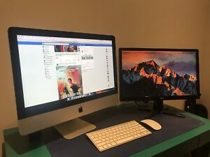 iMac 2013 Top pf the line 21.5 inch, i5 Ultra fast SSD.