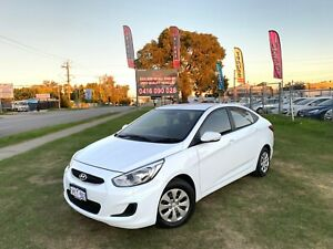 2017 HYUNDAI ACCENT ACTIVE RB4 MY17 (LEM) 4D SEDAN AUTOMATIC 36 MONTHS FREE WARRANTY Kenwick Gosnells Area Preview