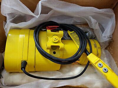 Budgit 1 Ton Electric Chain Hoist 15ft 460v