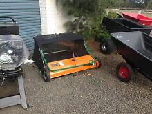 LAWN SWEEPER TOW BEHIND RIDE ON MOWER Penshurst Southern Grampians Preview