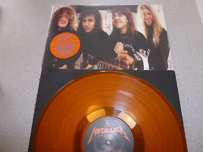 "METALLICA - The $5.98 E.P. - Garage Days Re-Revisited - orange 12"" Vinyl"