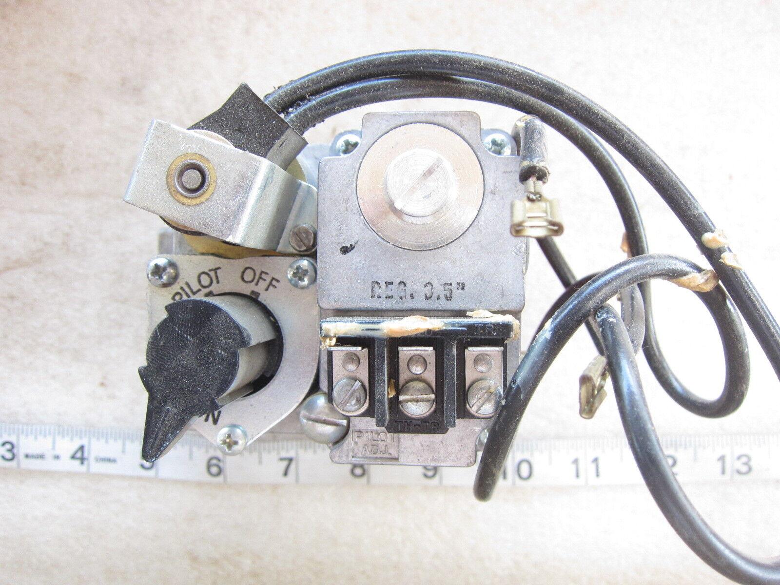 Old Robertshaw Gas Valve Wiring Diagram. Robertshaw Gas Control ...