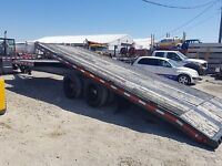 Tilt deck 20 ton trailer new safety ready for work! Calgary Alberta Preview
