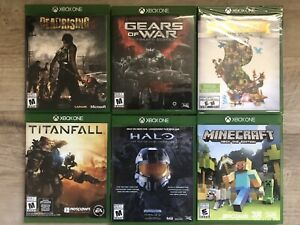 Batch of XBOX ONE games